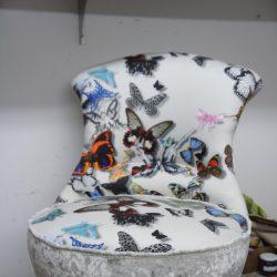 fauteuil crapaud Cristian Lacroix