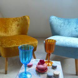 Fauteuil cocktail vintage années 50