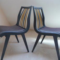 2 Chaises vintage années 50