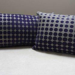 Coussin violet 40x30