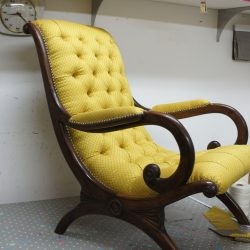 Fauteuil Chesterfield Victoria