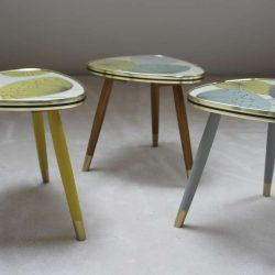 Petites tables tripode