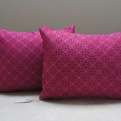 Coussin rose