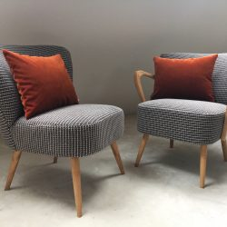 Duo fauteuils cocktail