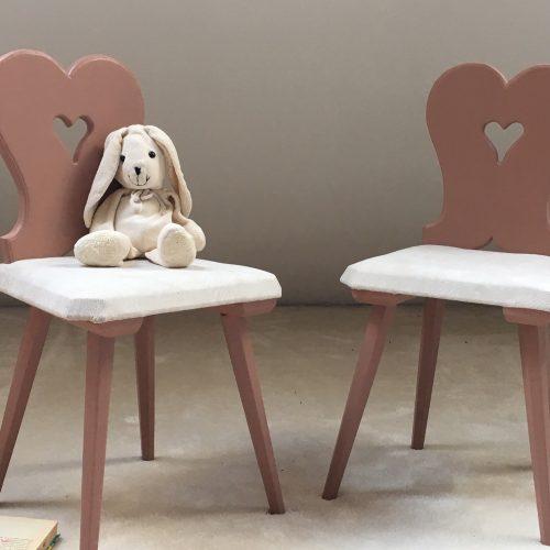 Lot de 2 chaises alsaciennes pour enfants