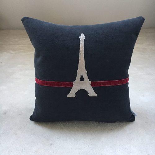Housse de coussin Tour Eiffel